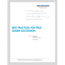 Best Practices for Field Leader Succession