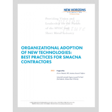 Organizational Adoption of New Technologies: Best Practices for SMACNA Contractors