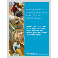 Productivity Tracking in the HVAC and Sheet Metal Industry for Design, Manufacturing and Installation