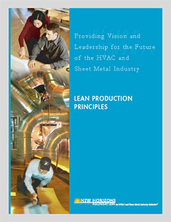 Cover Sheet - Lean Production Principles