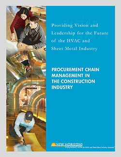 Procurement Chain Management in the Construction Industry