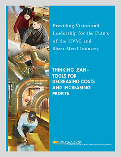 Cover Sheet - Thinking Lean. Tools for Decreasing Costs and Increasing Profits