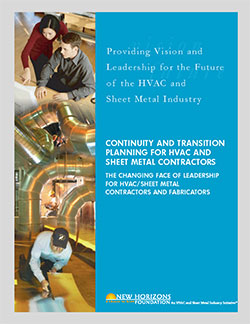 Continuity and Transition Planning for HVAC and Sheet Metal Contractors