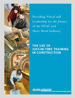 The Use of Just-in-Time Training in Construction