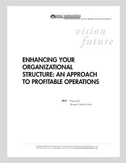 Enhancing Your Organizational Structure: An Approach to Profitable Operations