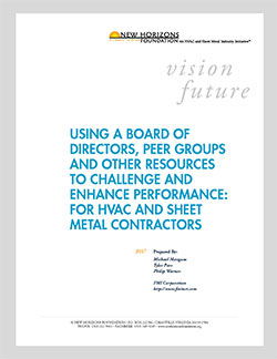 Using a Board of Directors, Peer Groups, and Other Resources