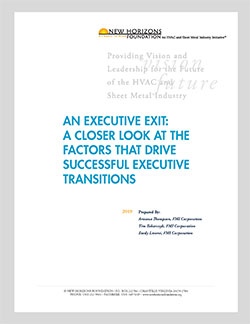 An Executive Exit: Succession Strategies